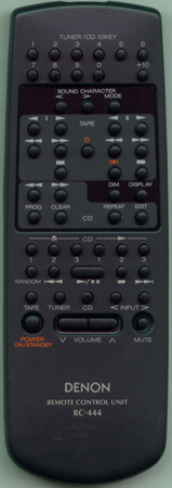 DENON AX-425701N RC-444 Genuine  OEM original Remote