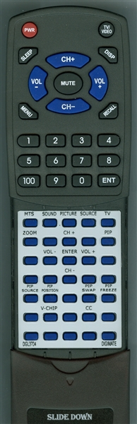 DIGIMATE DGL3704 Custom Built Redi Remote