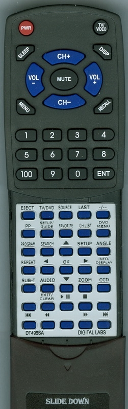 DIGITAL LABS DT496SA Custom Built OEM Redi Remote