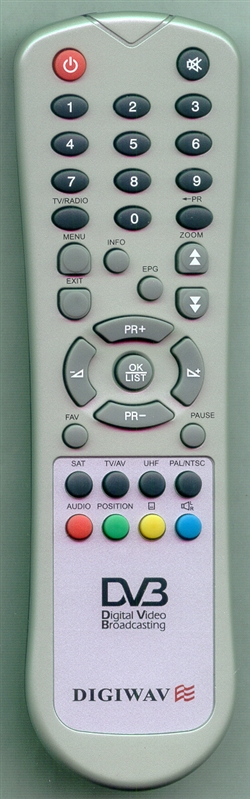 DIGIWAVE DG6800 Genuine  OEM original Remote