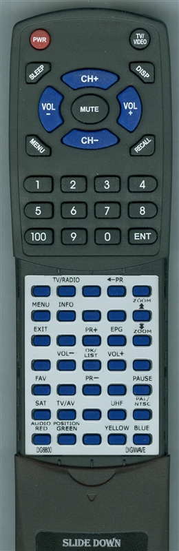 DIGIWAVE DG6800 Custom Built Redi Remote
