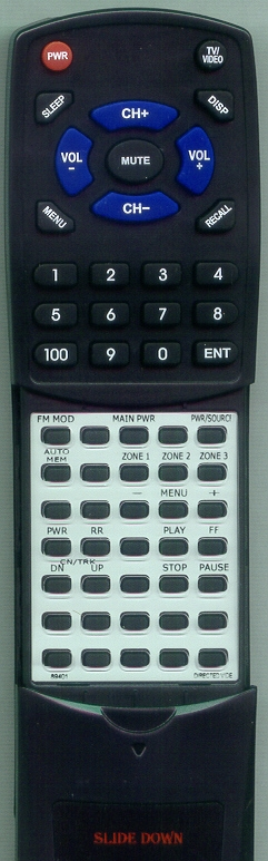 DIRECTED VIDEO 89401 RC100  Custom Built Redi Remote