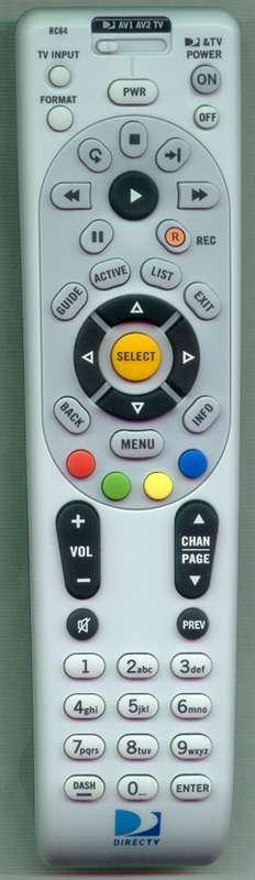 DIRECTV RC64 Genuine OEM Original Remote