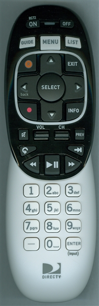 DIRECTV RC72  Genuine OEM Original Remote