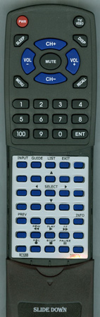 DIRECTV RC32BB Custom Built Redi Remote