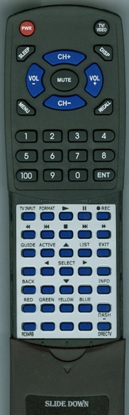 DIRECTV RC64RB Custom Built Replacement Redi Remote