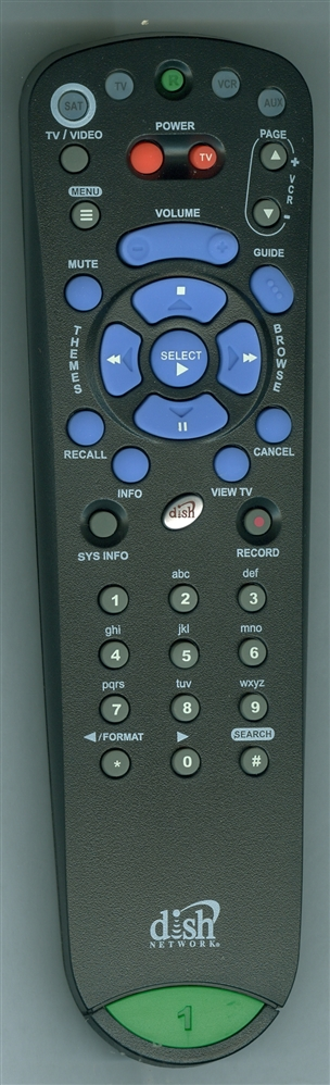 DISH NETWORK 184139 155153 Genuine OEM Original Remote
