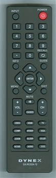 DYNEX 098GRABDUNEDYJ DX-RC02A-12 Refurbished Genuine Original Remote