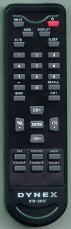DYNEX TV-5620-67 HTR291F Genuine  OEM original Remote