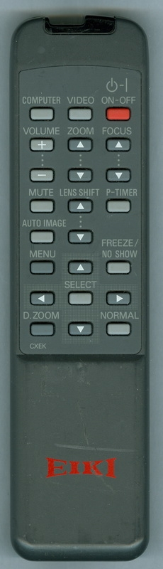 EIKI CXEK Genuine  OEM Original Remote