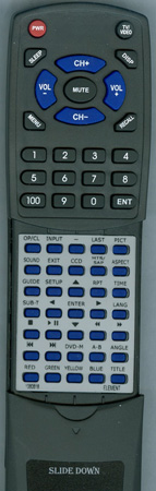 ELEMENT 1060618 EN-31607E Custom Built Redi Remote