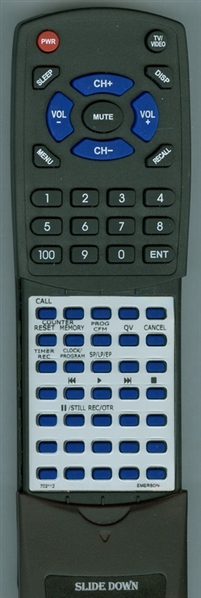 EMERSON 702112 VT4490 Custom Built Replacement Redi Remote