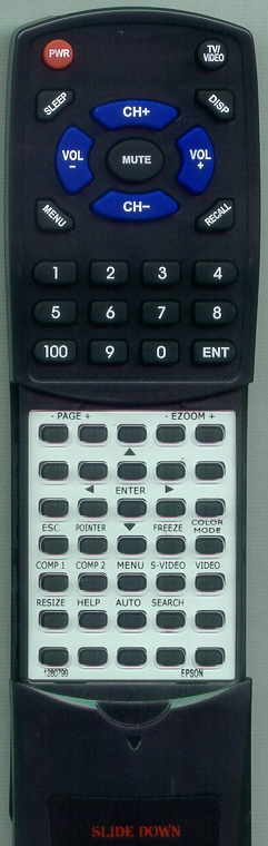 EPSON 1280799 128079900 Custom Built Redi Remote