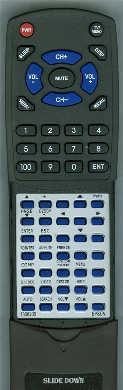EPSON 1306200 Custom Built Replacement Redi Remote