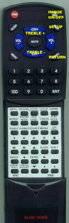 EPSON 1407521 Custom Built Redi Remote