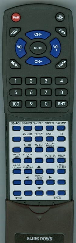 EPSON 1483291 148329100 Custom Built Redi Remote