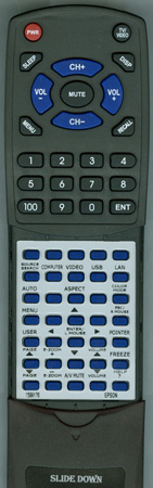 EPSON 1599176 159917600 Custom Built Redi Remote