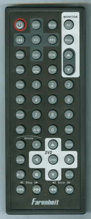 FARENHEIT MD1120CMX Genuine OEM Original Remote