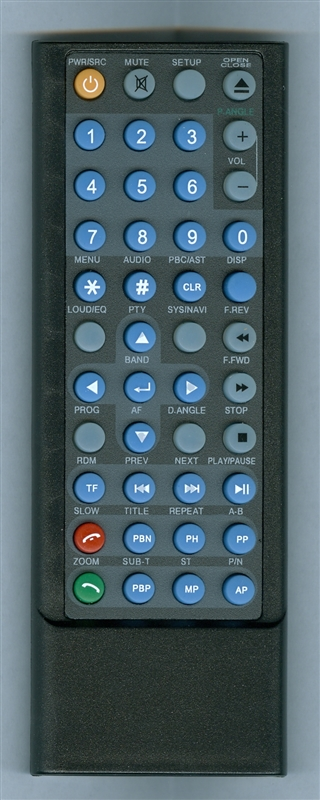 FARENHEIT TID702NRB Genuine OEM Original Remote