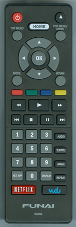 FUNAI NC263UH NC263 Genuine OEM Original Remote