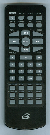 GPX PD930GN PD930GN Genuine  OEM Original Remote