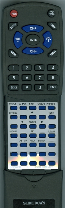 GI 478095-001-99 IRC422 Custom Built Redi Remote