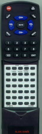 GOLDSTAR 6711A90019A Custom Built Replacement Redi Remote
