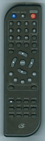 GPX REM-D190B Genuine  OEM original Remote