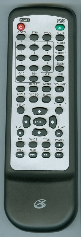 GPX REM-D200BV2 Genuine OEM Original Remote