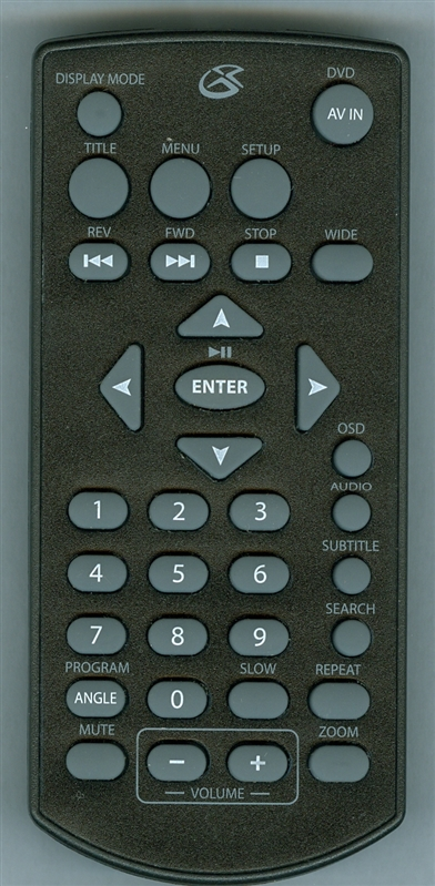GPX REM-PD701 Genuine OEM Original Remote
