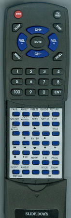GPX REM-TD4022 Custom Built Redi Remote
