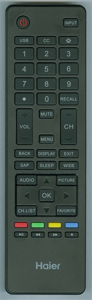 HAIER 504Q3915101 Genuine OEM Original Remote