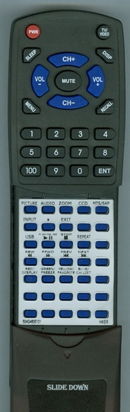 HAIER 504Q4605101 Custom Built Redi Remote
