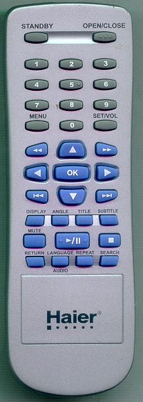 HAIER TV-5620-34 Genuine OEM Original Remote
