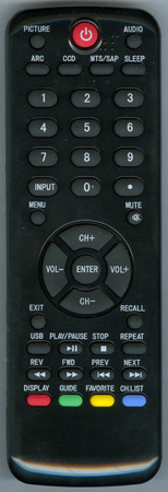 HAIER TV-5620-98 HTRD09 Genuine  OEM Original Remote