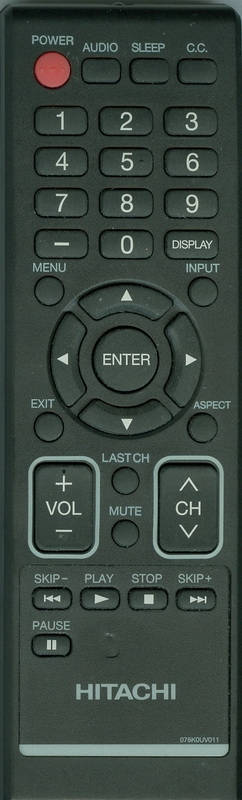 HITACHI 076K0UV011 Genuine OEM original Remote