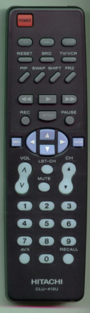 HITACHI HL00221 CLU412U Genuine  OEM Original Remote