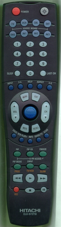 HITACHI HL01322 CLU-572TSI Genuine  OEM original Remote