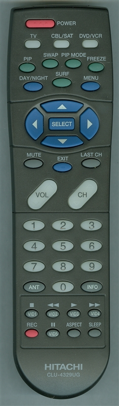 HITACHI HL01839 CLU-4329UG Genuine OEM original Remote