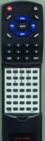 HITACHI HL10211 VTRM380A Custom Built Replacement Redi Remote
