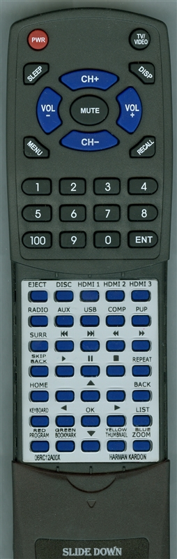 HARMAN KARDON 06RC12A0-0X Custom Built Replacement Remote