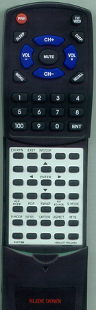 HEWLETT PACKARD 5187-75868 Custom Built Redi Remote