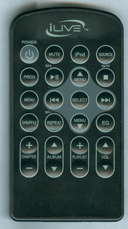 ILIVE REM-IB319 IB319 Genuine OEM Original Remote