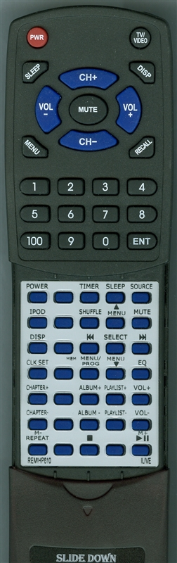 ILIVE REM-IHP610 Custom Built Replacement Redi Remote