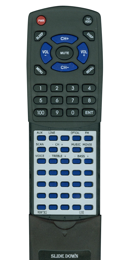 ILIVE REM-IT302 Custom Built Redi Remote