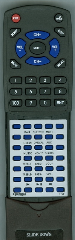 ILIVE REM-ITB284 Custom Built Replacement Redi Remote