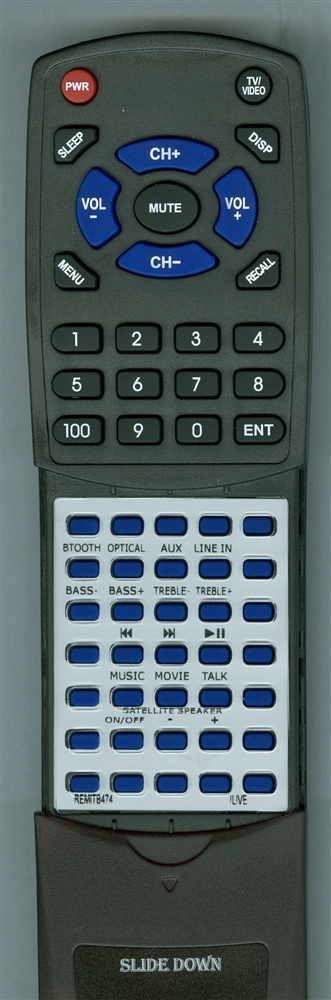 ILIVE REM-ITB474 ITB474 Custom Built Replacement Redi Remote