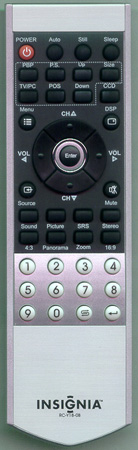 INSIGNIA 301-YPS42K9-18B RC-Y18-0B Genuine OEM original Remote