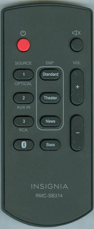 INSIGNIA 600-SB314-05B Genuine  OEM original Remote