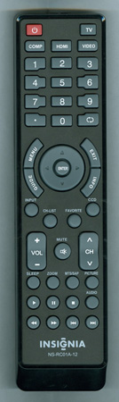 INSIGNIA 6011200101 NSRC01A12 Genuine OEM Original Remote